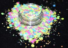 Mezcla de brillo hermoso arte en Uñas LIMA Fizz para acrílico y gel de aplicación