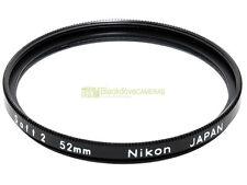 52mm. filtro Soft 2 Nikon originale. Per ammorbidire i ritratti...