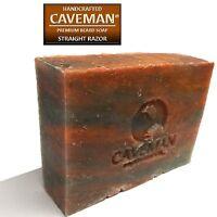Original Handcrafted Beard and Body Soap by Caveman® (Straight Razor)