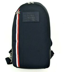 NEW! Tommy Hilfiger Unisex Men Women Sling CrossBody XBody Bag Backpack with Tag
