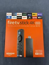 NEW Amazon Fire TV Stick 4K MAX Ultra HD HDR Streaming Media Player Wi-Fi 6