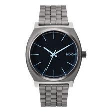 Nixon Orologio Time Teller Gunmetal Blue Crystal 37 mm
