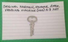 Original Harmon, Advance, Amco, Vending Machine (NOS) A-8 Key