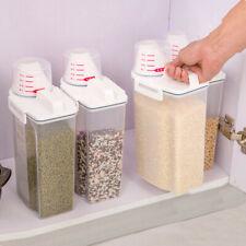 2L Storage Box Feuchtigkeitsbeständige Reisfässer Mehl Körner Aufbewahrungseimer