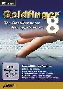 Goldfinger 8 - Der ultimative Tipp-Trainer von Unite... | Software | Zustand gut