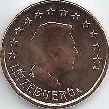 Luxemburg 1 Cent Kursmünze (2002 - 2019), unzirkuliert/bankfrisch