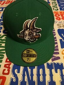 Hartford Yard Goats Colorado Rockies AA Affiliate New Era 59/50 Cap Size 7 5/8