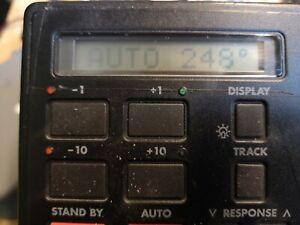 AutohelmST6000   Autopilot display