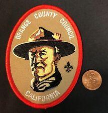 ORANGE COUNTY COUNCIL OA LODGE 13 WIATAVA BADEN POWELL CALIFORNIA POCKET PATCH