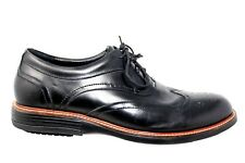 Gravity Defyer Windsor Full Brogue Wingtip Leather Dress Oxford Shoes Size 15M