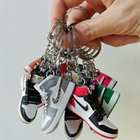 The New Mini 3D Sneaker Keychain Shoe Decoration Handpainted Aj1 Air Jordan