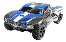 1:10 Blackout SC PRO Short Course RC Truck 2.4GHz Brushless Motor Blue New