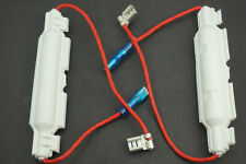 2x Universal Microwave Oven High Voltage Glass Fuse W Holder 5KV 0.8A 95X20mm