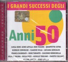 I GRANDI SUCCESSI DEGLI ANNI 50 - CD (NUOVO SIGILLATO)