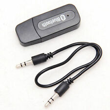 USB Stereo Bluetooth Receiver Adapter for Cell Phone Tablet PC Music to AUX Car