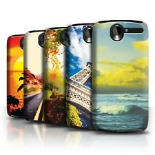 STUFF4 Back Case/Cover/Skin for HTC Desire G7/Beautiful World Art