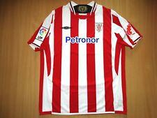 MINT ATHLETIC BILBAO 2009 2010 UMBRO HOME SHIRT Football Spain Camiseta SoccerXL