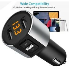 Bluetooth Car FM Transmitter MP3 Player Wireless Radio Adapter Kit 2-USB Charger