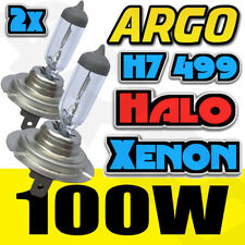 H7 (499) halógena SUPER CLARO Headligh Bombillas 100w 12v para coches y motos