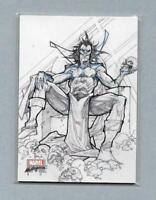 2018 Marvel Masterpieces Preliminary Art PA56 Mephisto Card