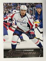 2015-16 UD Young Guns Rookie Chandler Stephenson