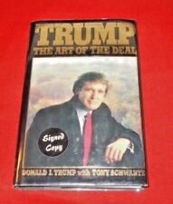 """""""The Art Of The Deal""""  D. Trump 1987 (Signed & Stated 1st Edition) VG+++"""