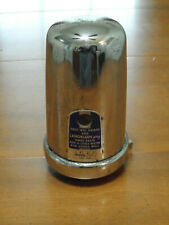 Vintage Dry Soap Dispenser West Chemical Products Chrome Garage Home School