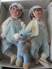 TWINS    REAL BOY- REAL GIRL 18 INCH BABIES In  Original BOX