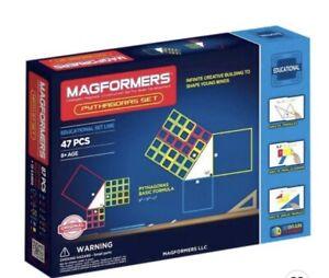 Magformers Pythagoras Set, Educational Magnestic Building Blocks