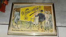 Bicycle Original Whitworth Cycles Poster PAL Jean de Paleologu 82 x 62 Rare