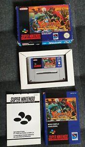 Equinox - SNES - Jeu Super Nintendo - PAL FAH
