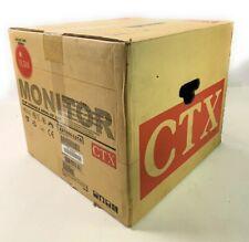 "CTX VL-510 Monitor VL series XA1555-L21C 15"" CRT  Screen/Monitor- NEW"