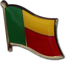 Benin Country Flag Bike Motorcycle Hat Cap lapel Pin