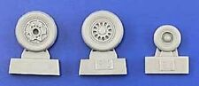 eduard 648011 1/48 Aircraft- F16 Late Wheels for Kinetic (Photo-Etch & Resin)