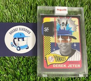 Topps Project 70 Card #106 - 1965 Derek Jeter by Pose New York Yankees