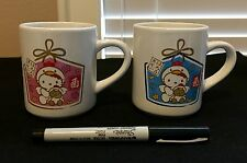 2 Sanrio Hello Kitty MUGS from Japan-ship free