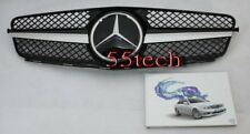 Front Grille grill 08~14 W204 C230 C300 C350 1 FIN BLack A3-P AMG