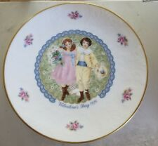 Vintage Royal Doulton Valentines Day 1976 Display Plate