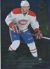 2013-14 Fleer Showcase METAL Universe #MU-2 ALEX GALCHENYUK Montreal Canadiens