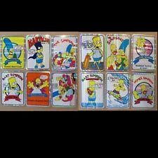 Vintage Simpsons Vending Prism 12 Stickers 80's 90's