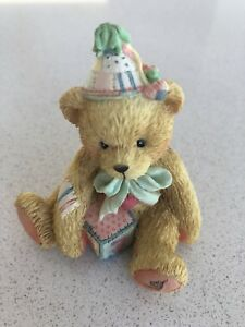 "Cherished Teddies No.911321 ""Two Sweet Two Bear"" Age 2 Figurine"