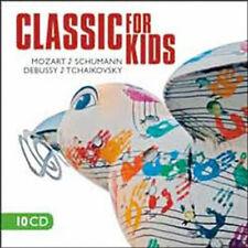 Klassische Musik für Kinder - 10 CD Mozart Schumann Debussy Tchaikovsky Haydn