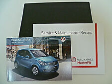 VAUXHALL AGILA SERVICE BOOK HANDBOOK & WALLET PACK -   2012 To 2015 NEW