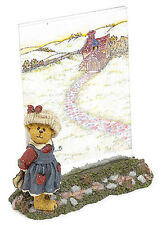 Boyds Bear Picture Frame Bailey Off to School # 27320 1E! Nwt!
