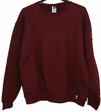"Deal of 2 pcs Lot ""Russell Athletic""- Sweat Shirt- Color: Burgundy- Size:Large"