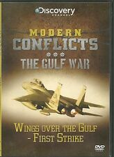 WINGS OVER THE GULF - FIRST STRIKE THE GULF WAR DVD MODERN CONFLICTS - NEW