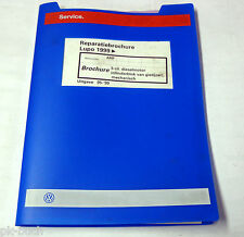 Reparatiebrochure VW Lupo 3-cil. dieselmotor ( Cilinderblok van gietijzer ) 1999
