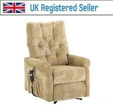 Willis & Gambier Full Flat Rise and Recline Electric Chair 832 Avocado green