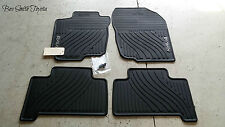NEW OEM TOYOTA RAV4 2007-2012 ALL WEATHER FLOOR MATS 4-PIECE SET