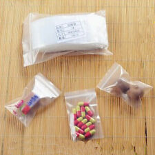100pcs/Pack Clear Ziplock Reclosable Plastic Poly Tiny 6*9cm Bags High Quality